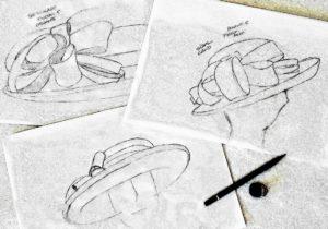 creazione cappelli atelier mode liana firenze